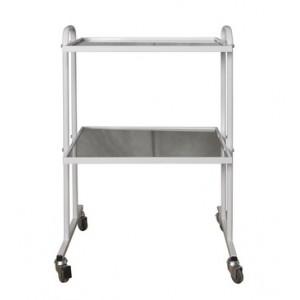 Столик процедурно-манипуляционный Диакомс СПМ-3, металл, стекло