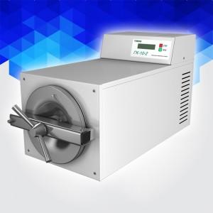 ГК-10-02 (ТЗМОИ, Россия) настольный паровой стерилизатор (10 литров)