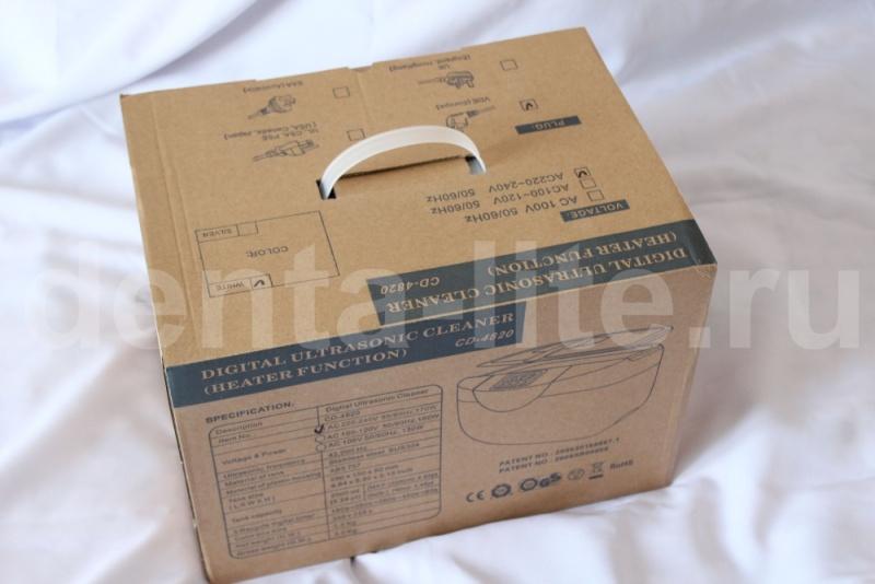 транспортировочная коробка ультразвуковой ванны cd 4820 codyson китай