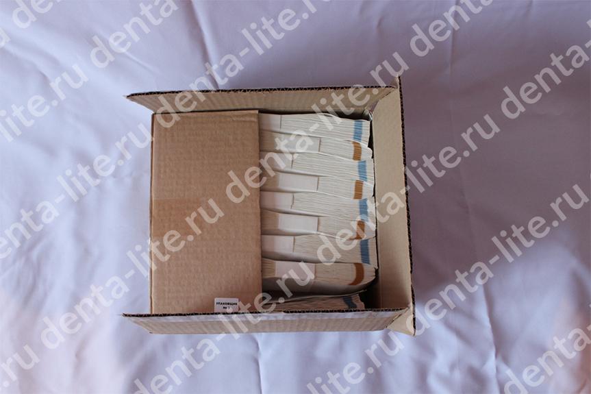 картонная упаковка белых крафт пакетов 100Х200 мм винар стерит